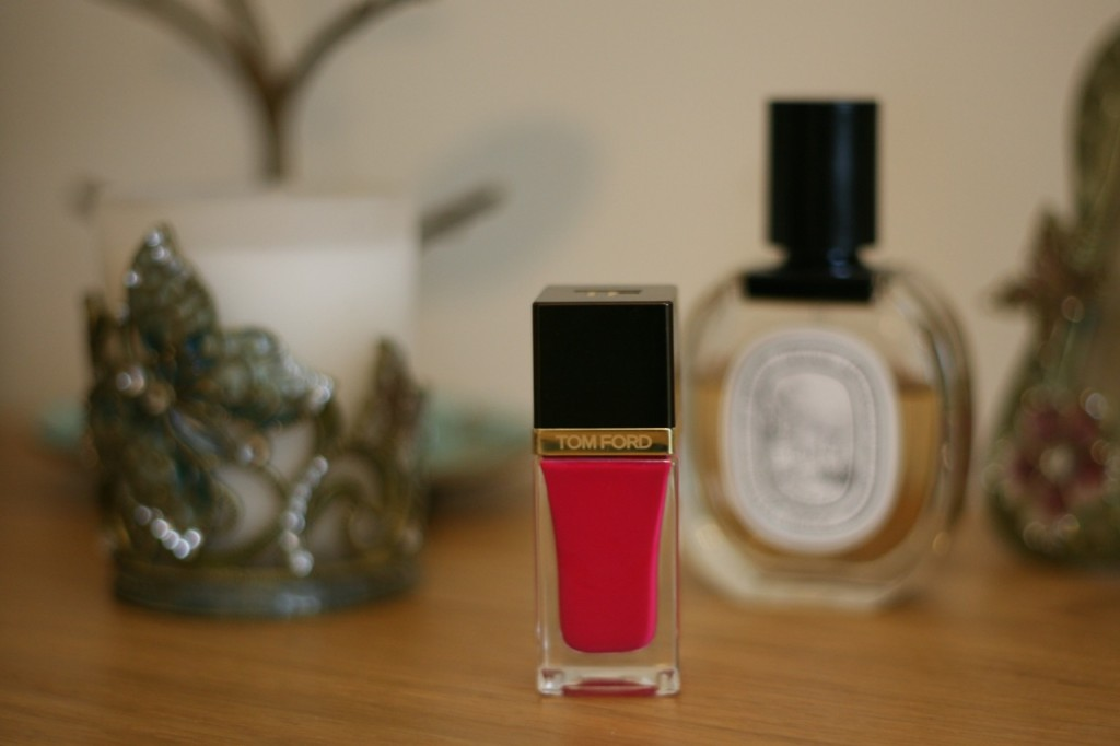 Tom Ford pink fever profile shot