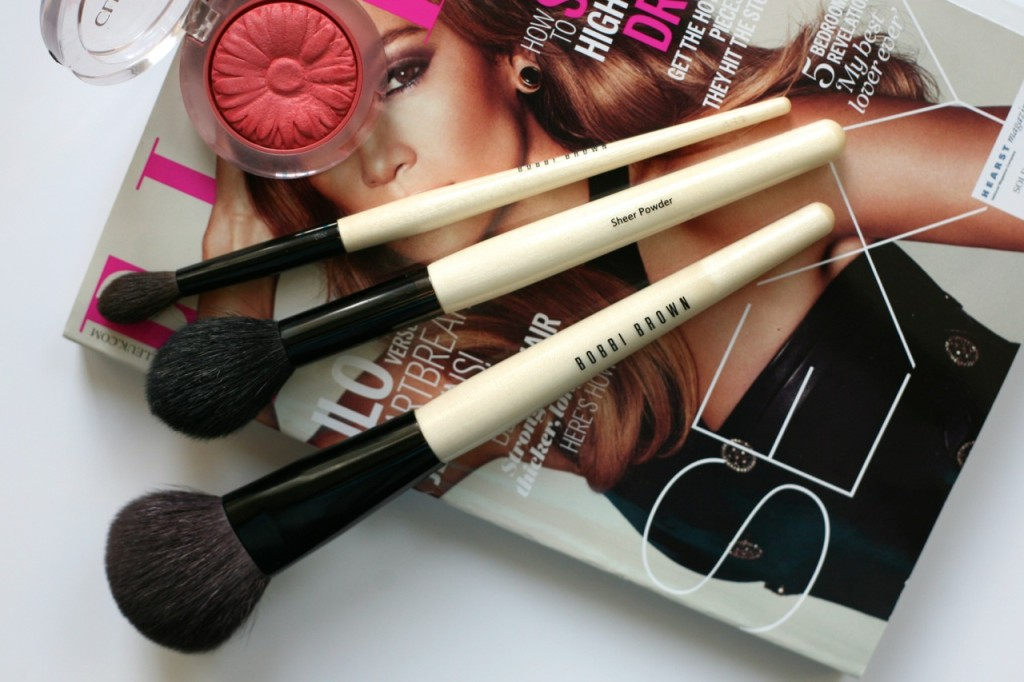 bobbi brown brush haul