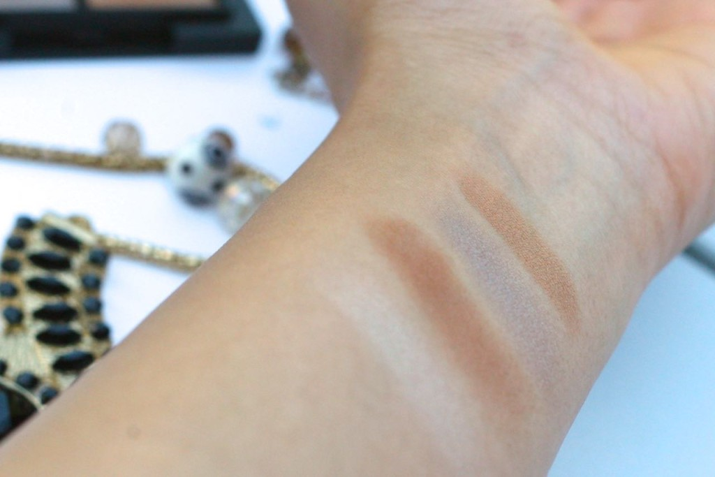 glo & ray eyeshadow swatch