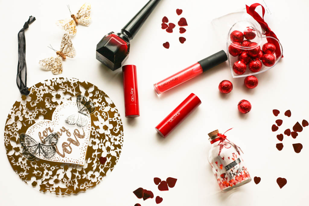 Rock A Red Lip This Valentine's Day With Glo & Ray