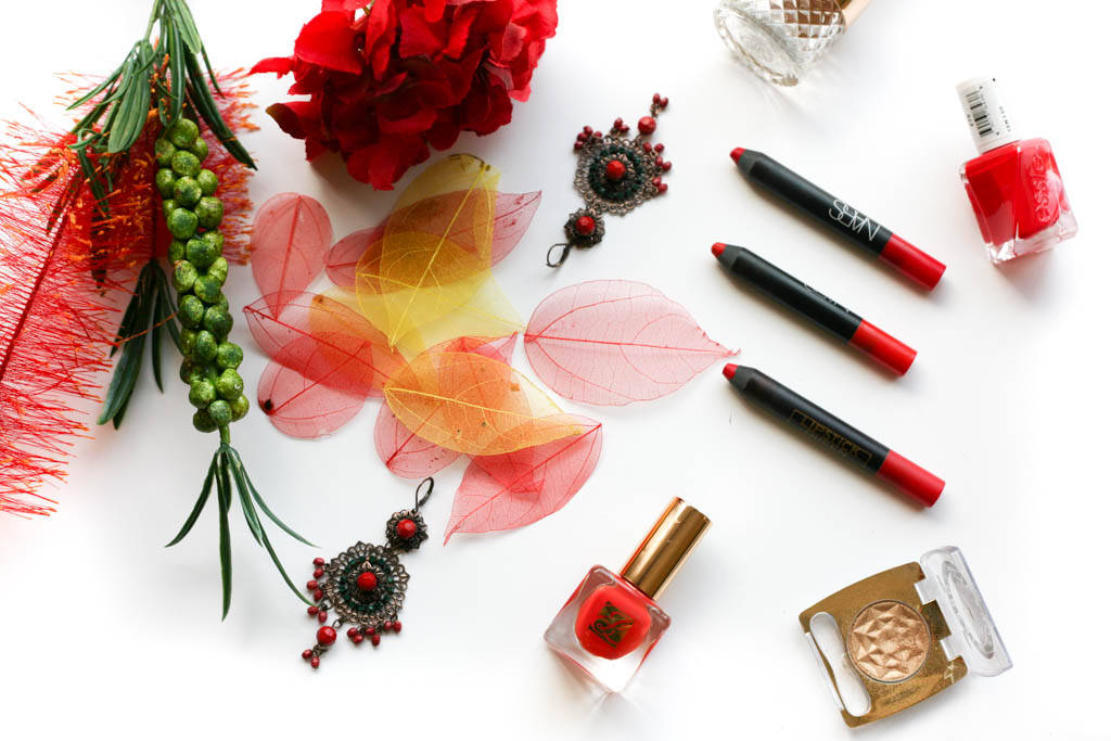 red lip crayons 1607 6