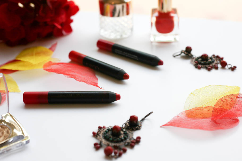 red lip crayons 1607 7