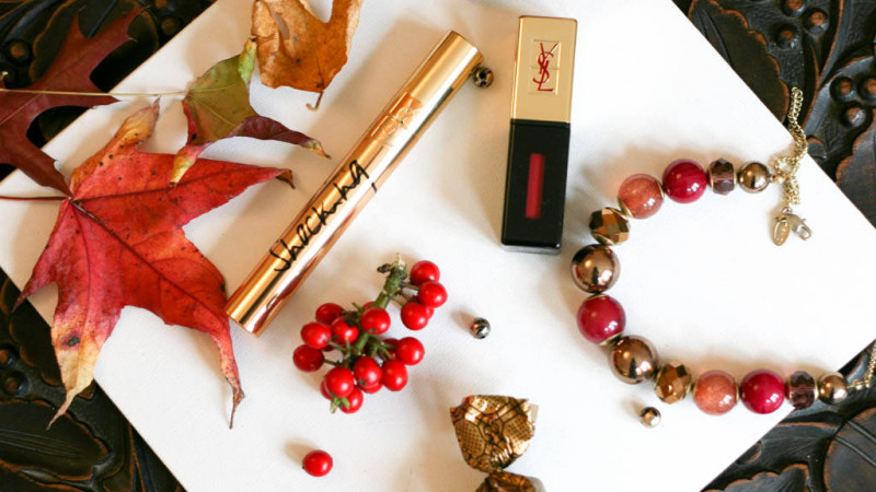 Giveaway: YSL Shocking Volume Mascara & Rouge Pur Couture Glossy Stain