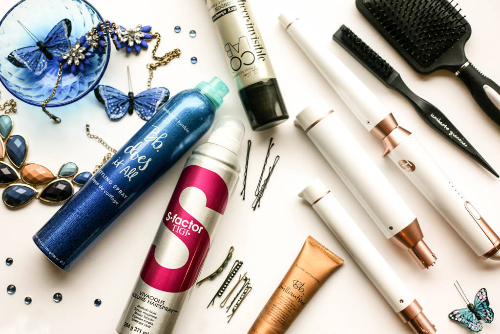 What i use on my hair for a night out profile