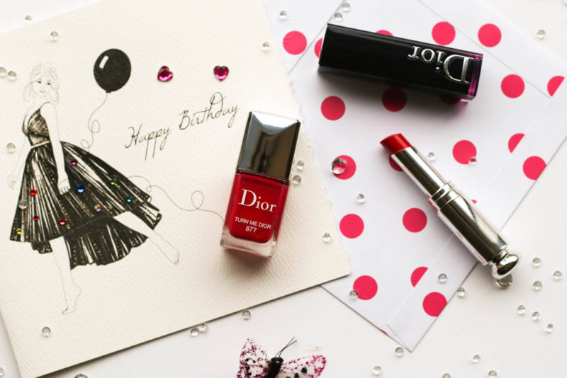 Giveaway: Dior Addict Lacquer Stick & Nail Varnish in Turn Me Dior