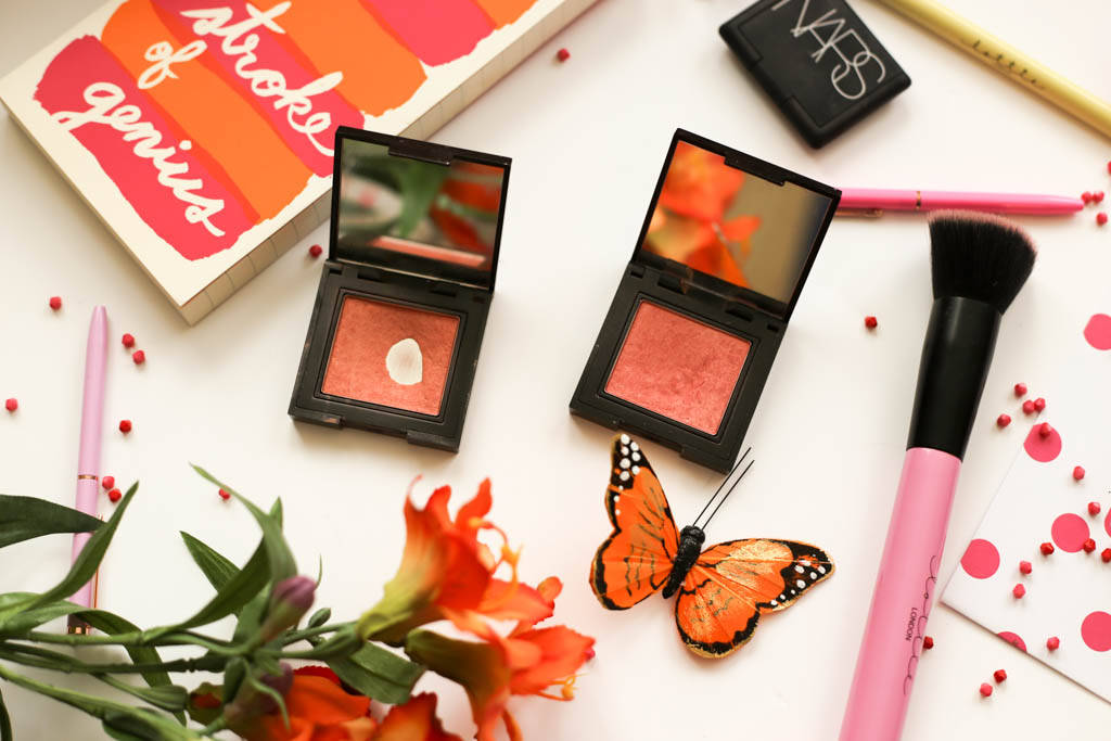 Laura Mercier Second Cheek Skin blushers in Lush Nectarine & Sweet Mandarin