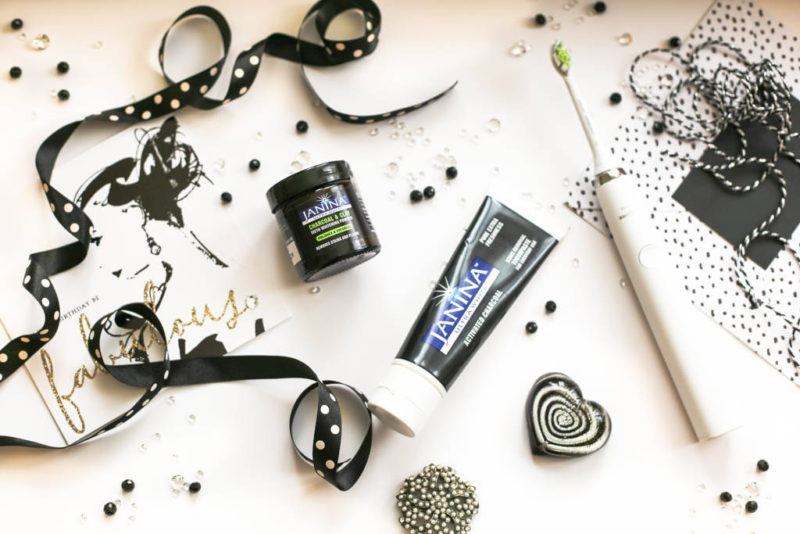 A Review on the Janina Ultra White Activated Charcoal Toothpaste & Charcoal & Clay Teeth Whitening Powder