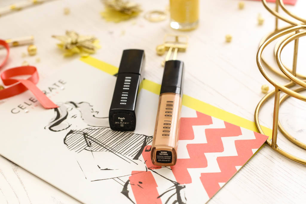 Bobbi Brown Intensive Skin Serum Corrector in Peach & Bobbi Brown Instant Full Cover Concealer in Warm Natural