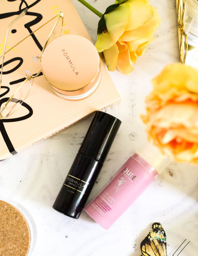Affordable Skincare that works featuring M&S Beauty | Formula Absolute Elixir & Pure Super Grape Day Cream _