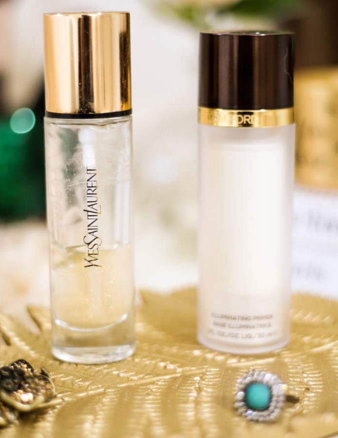 Get The Glow- My Favourites for Glowing Skin   YSL Touch Eclat Blur Primer & Tom Ford Illuminating Primer _