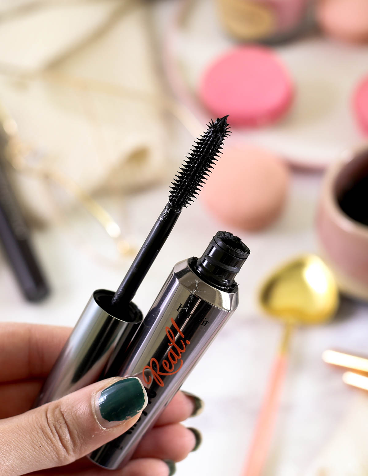 The Mascara Edit | High End Mascaras Worth Trying for Fuller Lashes | Brush on Benefit They're Real Lengthening Mascara_