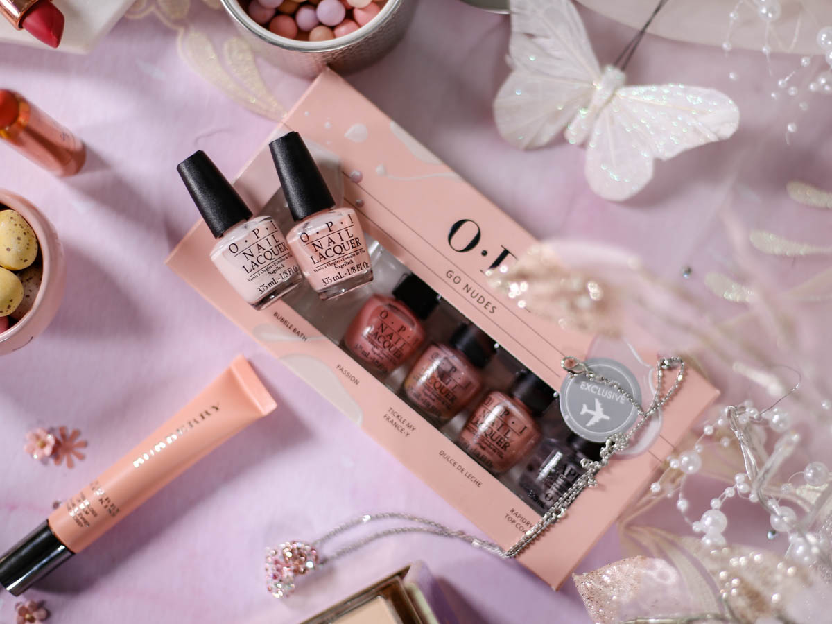 Spring Beauty   My Top Picks for Embracing A Softer Hues this Spring feat OPI Go Nudes Set