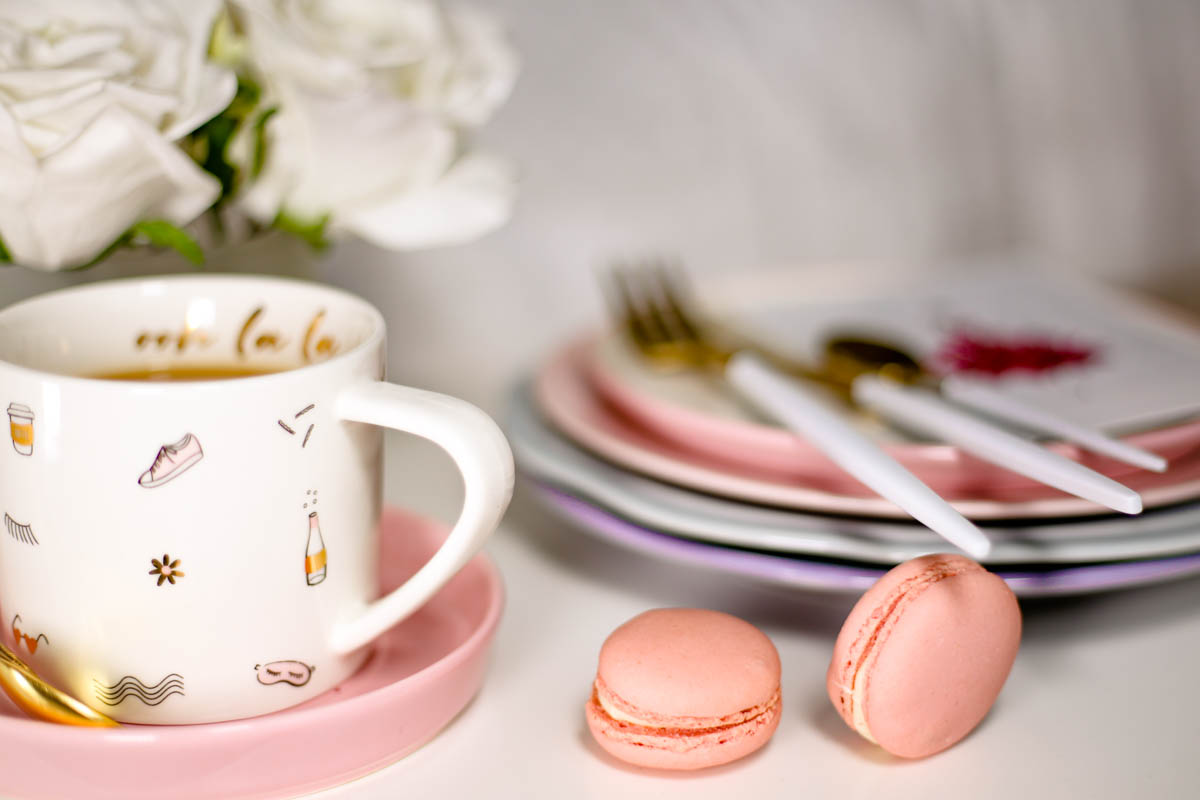 Spring Home Decor Ideas | Easy Ways to Freshen Up Your Home feat Kikki K teacup & saucer & pastel coloured crockery