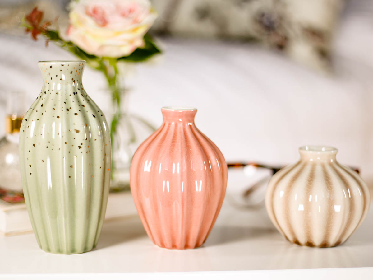 Spring Home Decor Ideas | Easy Ways to Freshen Up Your Home feat Next Set of 3 Ceramic Vases