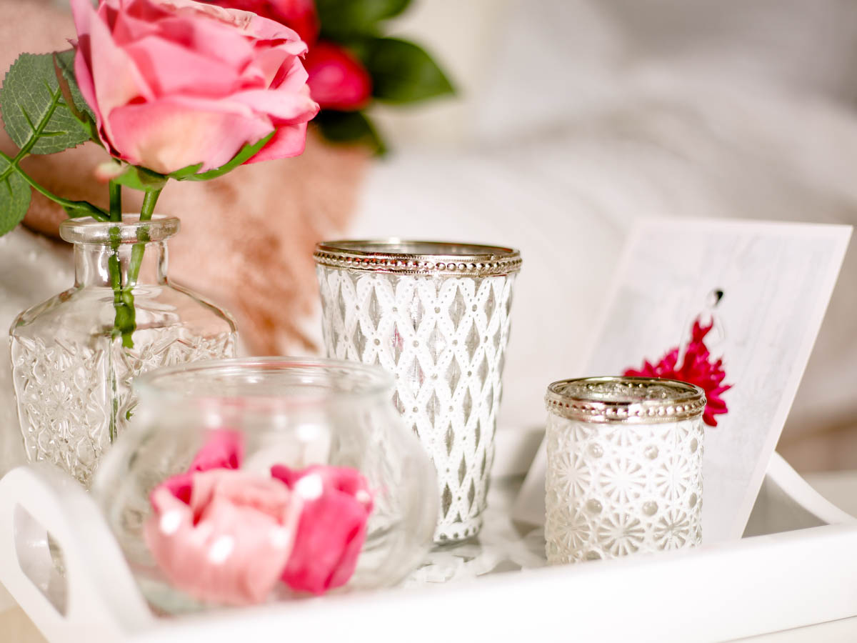 Spring Home Decor Ideas | Easy Ways to Freshen Up Your Home feat white tealight holders