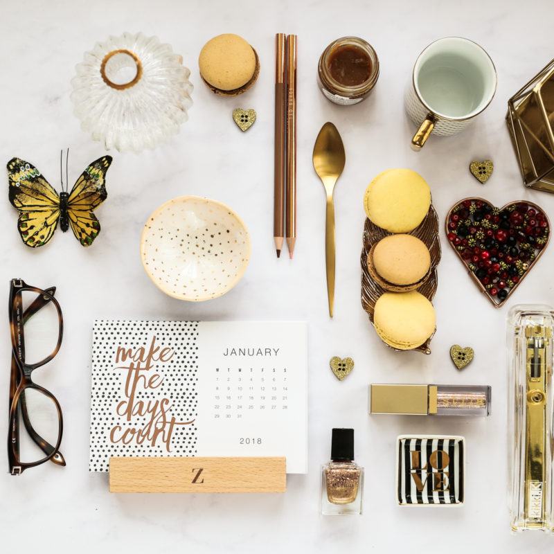 Blog Photography | How to Create the Perfect Flatlay