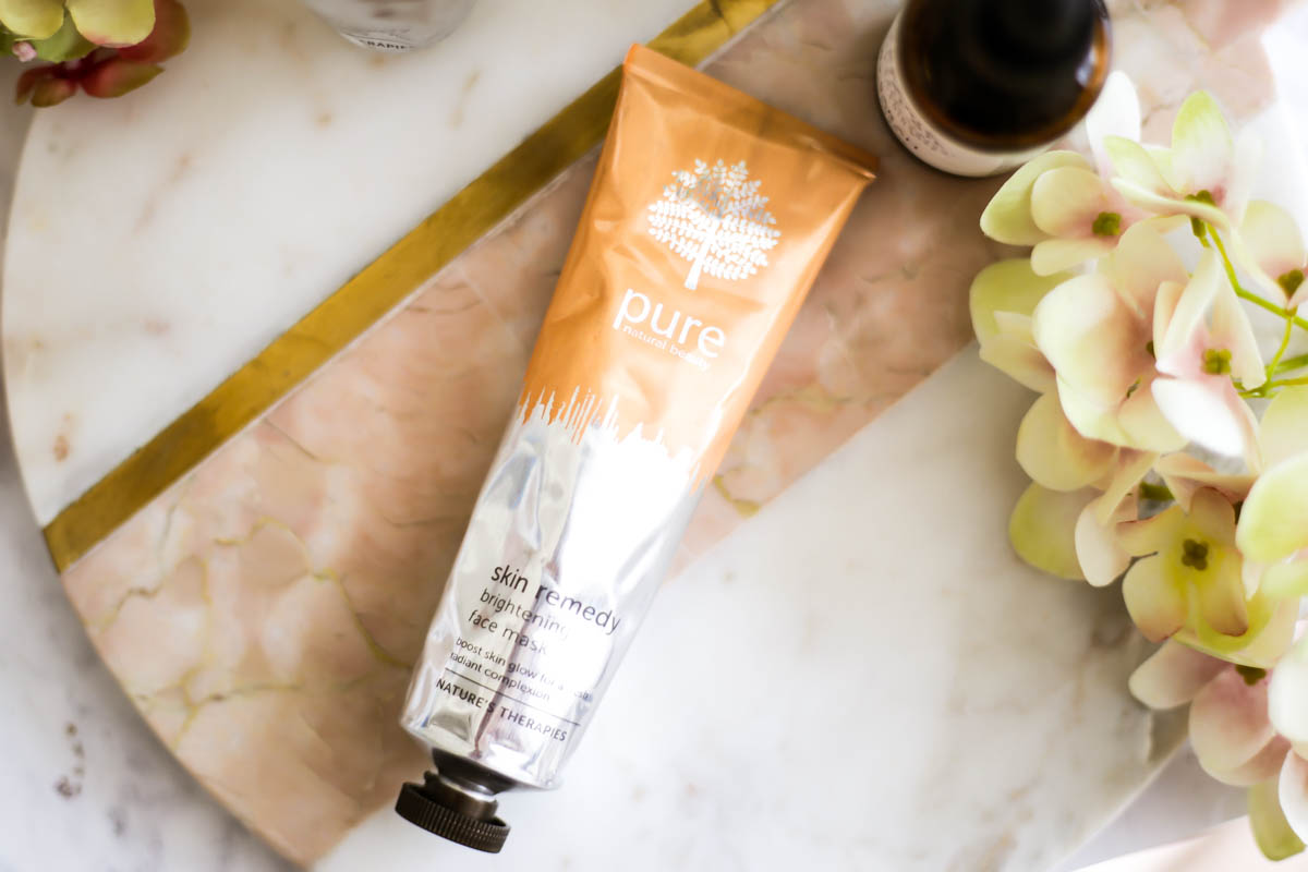3 Amazing Face Masks from Pure's New Skin Remedy Range | feat Pure Brightening Face Mask