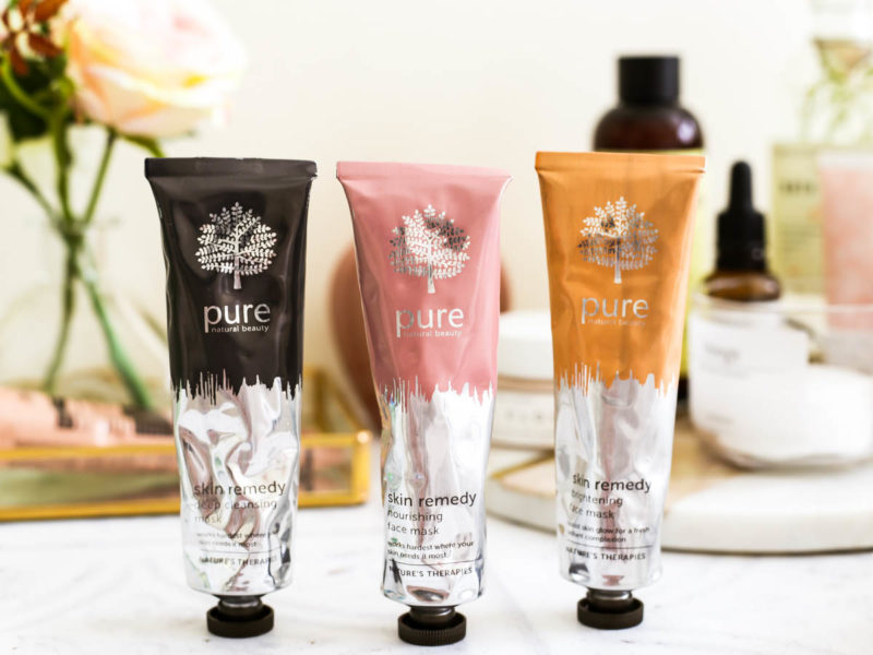 3 Amazing Face Masks From Pure's Skin Remedy Range