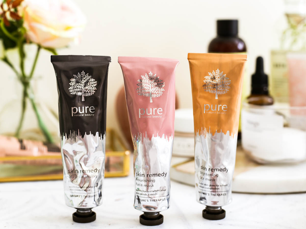 3 Amazing Face Masks from Pure's New Skin Remedy Range | feat Pure Deep Cleansing Mask, Pure Nourishing Face Mask & Pure Brightening Face Mask _