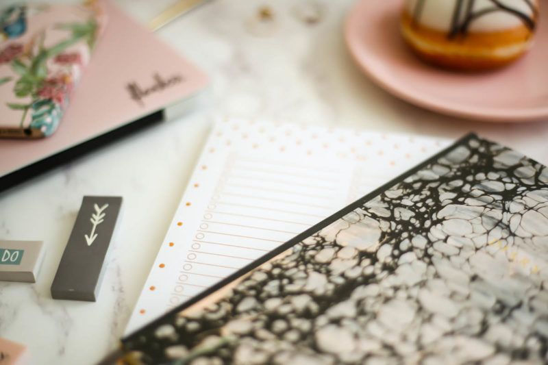 My Workday Essentials | feat Katie Leamon Diary & To Do List