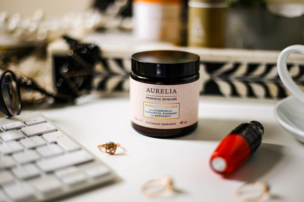 The Basic Skincare Steps you Need in your Routine | feat Aurelia Mircale Cleanser on desktop setting_