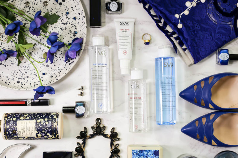 Blog Photography | 3 of my fave flatlay styles feat SVR skincare neatly laid