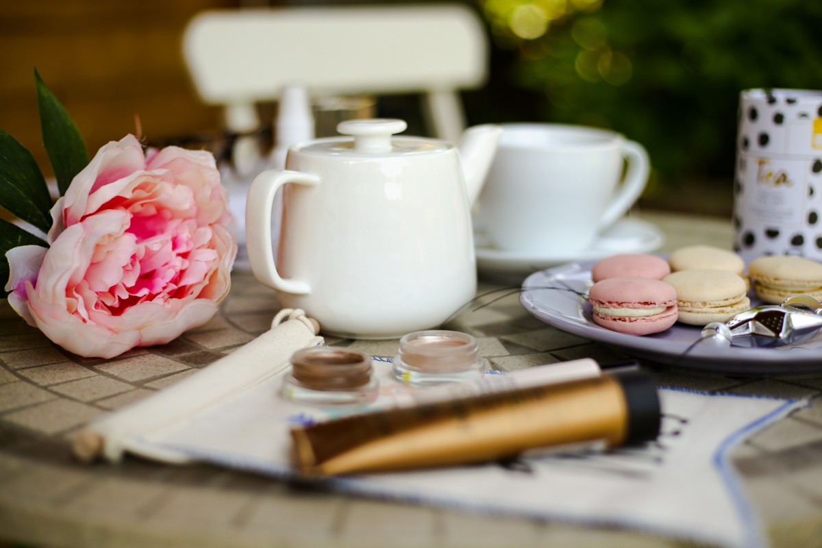 11 Favourite But Somewhat Underrated Beauty Products | feat Beauty products on table with teapot_