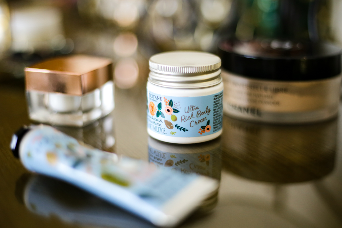 What's Currently On My Dressing Table | feat L'occitane Ultra Rich Body Cream