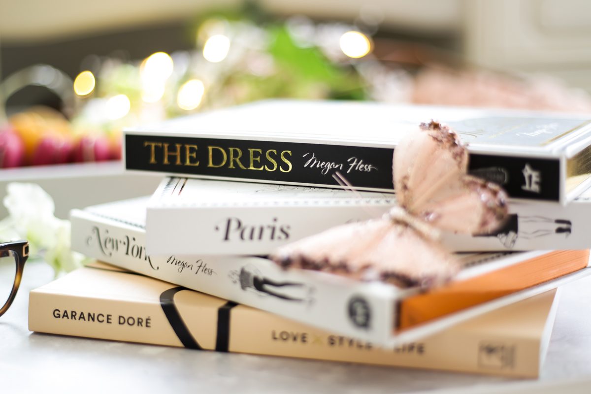 Blog Photography | Four Photo Styling Props I Love feat Megan Hess & Garance Dore books