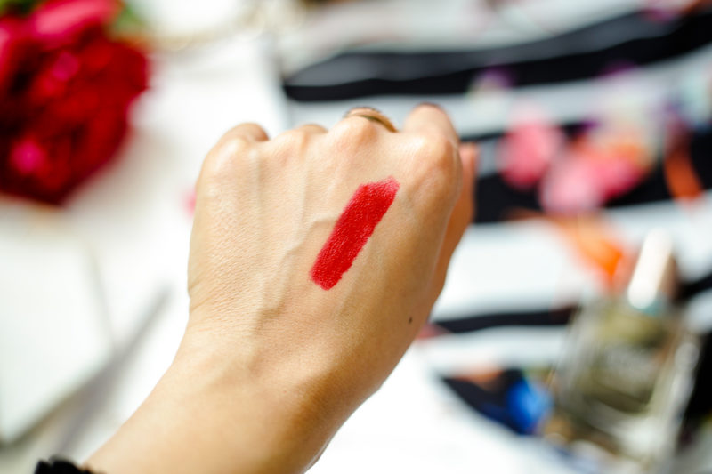 Summer Fashion & Beauty Favourites | feat swatch of By Terry Rouge Expert Click Stick in My Red