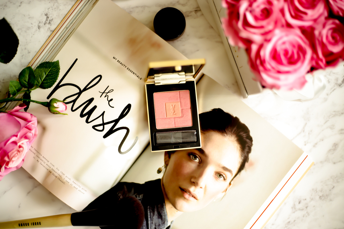 Three Blushers for a Sunkissed Look | feat YSL Blush Volupte in Passionnee