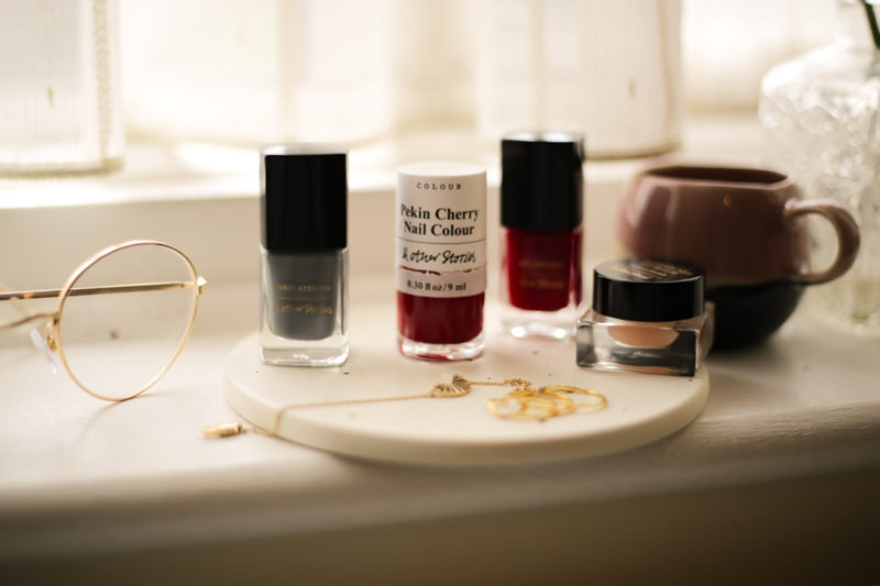 Some Fashion & Beauty Finds from &Other Stories- feat &Other Stories nail varnishes on window sill