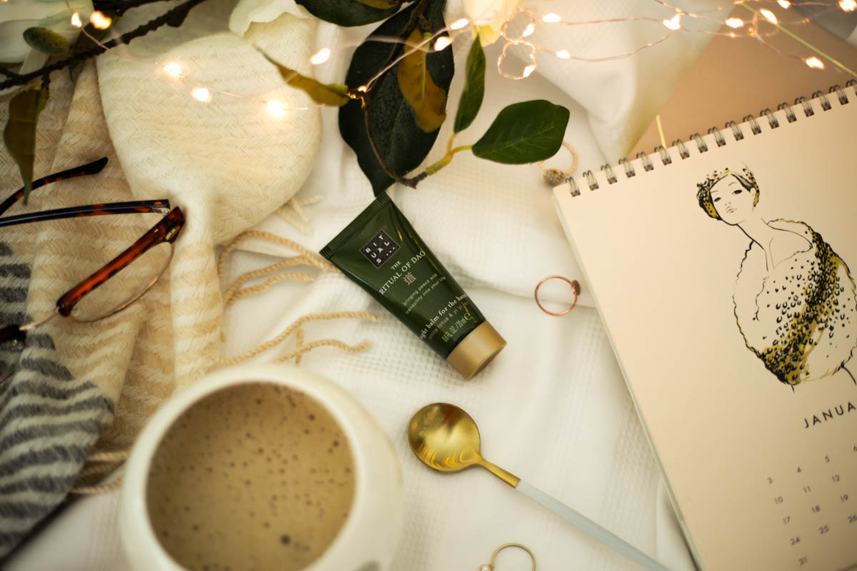 Some Evening Rituals to help me wind down- featuring Rituals Night Balm for the Hand