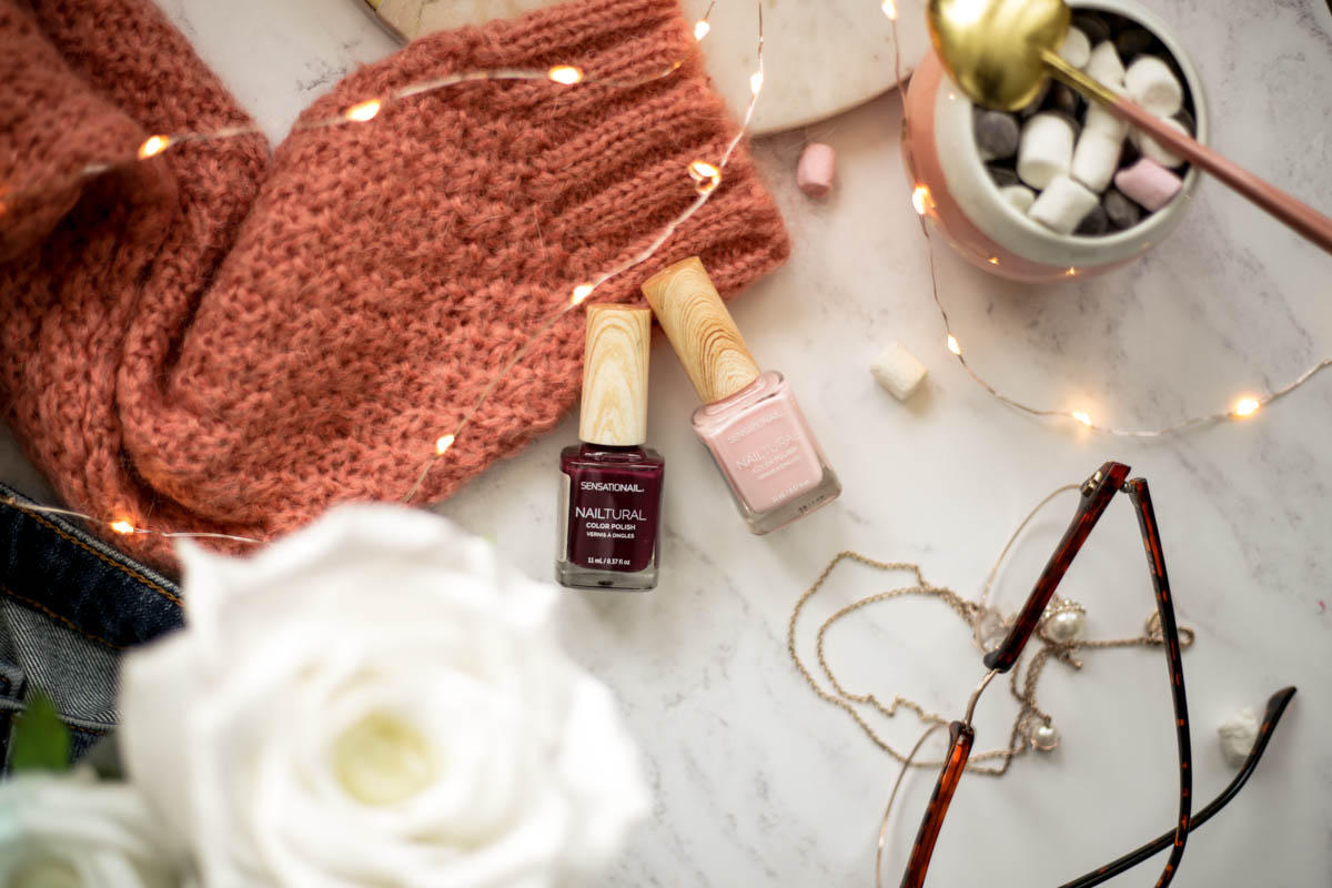 Revisiting Some Old Favourites & New Discoveries in Beauty | feat Sensationail Natural Colour Polish with cozy knit
